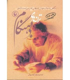 کتاب ترانه های بی هنگام نگاهی به حاشیه و متن شعرهای تقدیمی احمد شاملو