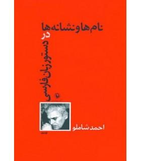 کتاب نام ها و نشانه ها در دستور زبان فارسی